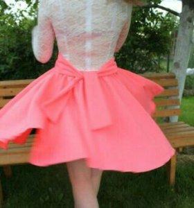 Платье летнее кружевное