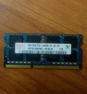 SODimm DDR3 4Gb PC3-1600S Hynix