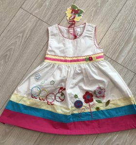 Новое платье , размер 92