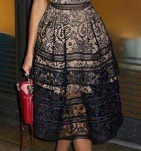 Платье кружевное, новое! Копия люкс