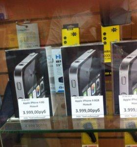 iPhone 4S 16GB  новые оригинал