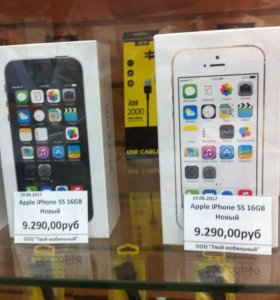 iPhone 5s 16Gb-64Gb новые оригинал