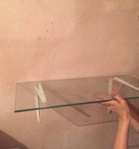 Полка стеклянная