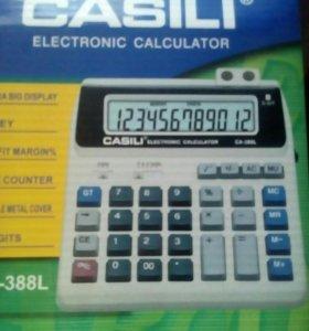 Электронный калькулятор.