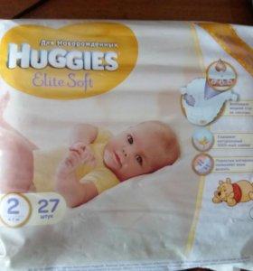 Подгузники Хаггис 2 размер