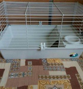 Клетка для грызунов ferplast+переноска в подарок