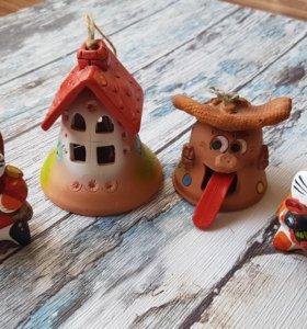 Набор глиняных игрушек