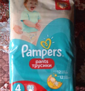 Памперсы Pampers Pants трусики