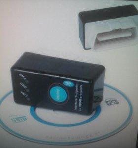 OBD2 ELM327 V1,5 диагностический сканер для авто