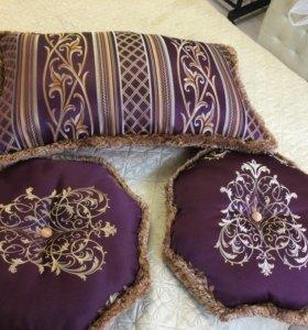 Подушки диванные, декоративные,дизайнерские