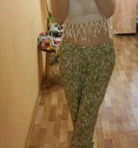 Легкие штанишки на лето 44 размер