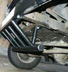 Защита рулевых тяг УАЗ Буханка
