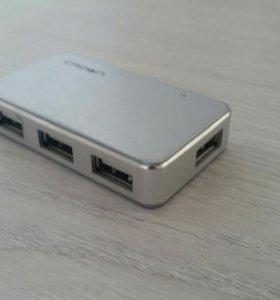 USB тройники