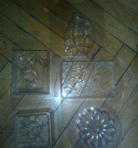 Пластиковые формы для мыла на прокат