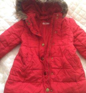 Пальто зимнее, куртка зимняч