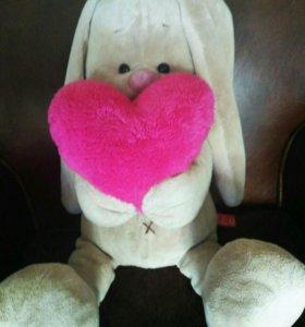 Заяц Ми с сердцем новый