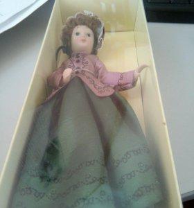 Кукла дама эпохи 20 евгения гранде