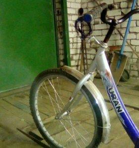 Велосипед URAN на запчасти