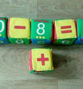 Плюшевые кубики