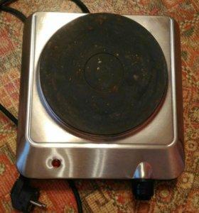 Плита электрическая однокомфорочная maxwell