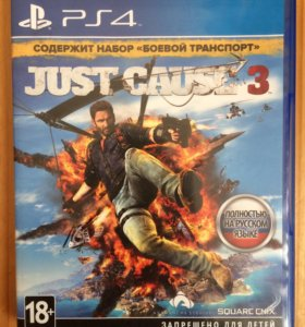 "JUST CAUSE 3 ""Ps4"""