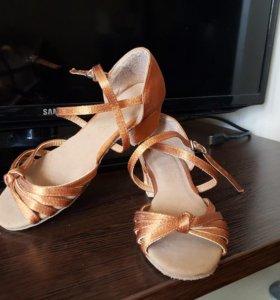 Туфли танцевальные детские 31 размер