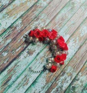 Браслет Розы ручной работы