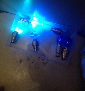 Светящиеся колпачки для велосипеда