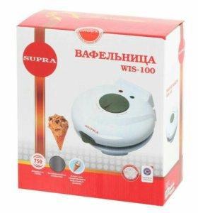 Электровафельница Supra WIS-100