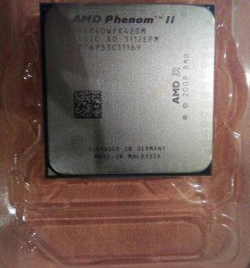 AMD Phenom II X4 840 сокеты AM2+, AM3, AM3+