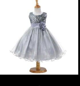 9-11лет новое платье