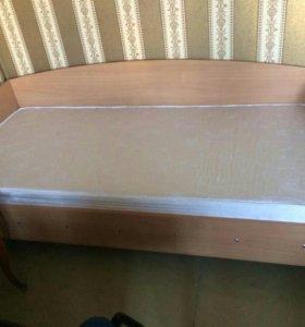 Новая кровать ортопедический матрас