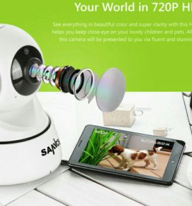 IP WiFi кмеры видеогаблюдения.