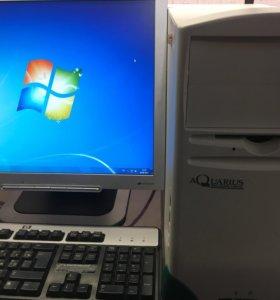 Компьютер в сборе (2 ядра 2 гига)