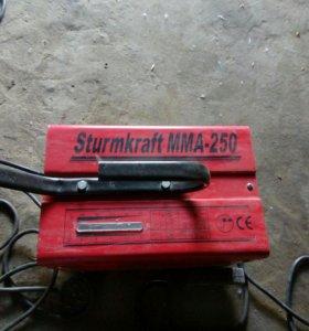 Сварочный апарат Sturmkrdft MMA250