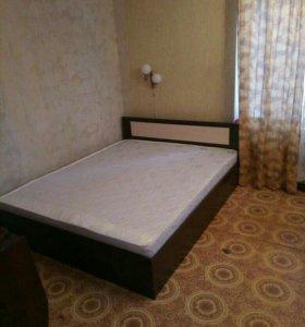 """Кровать с матрасом """"Лиана""""140х200 см"""