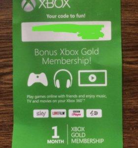 Gold подписка Xbox
