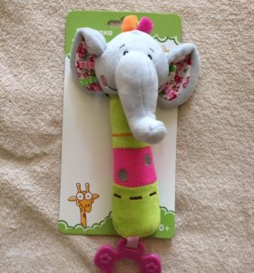 """Детская игрушка Пищалка """"Слон"""""""