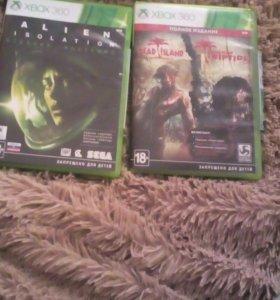2 диска на Xbox 360