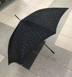 Новый зонт со стразами Parachase