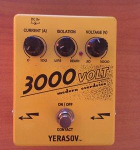 Гитарная педаль Yerasov 3000volt modern overdrive