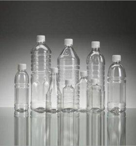 Флакон 100  мл, также бутылки от 0,5 л. до 5 литра