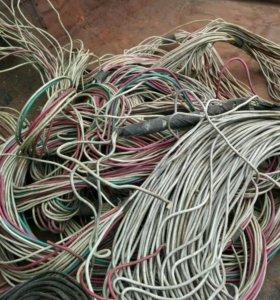 Новые медные провода в идеальном состоянии
