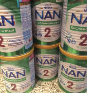 Смесь кисломолочная Nan