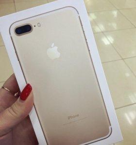iPhone 7plus Gold 128gb