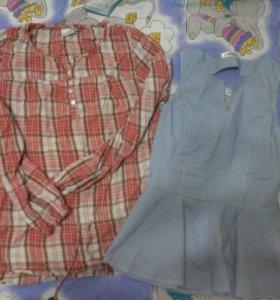 Блузки,рубашки 42р.