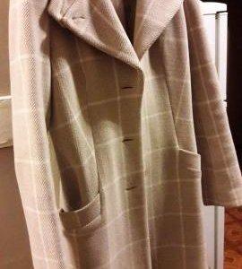 Пальто шерстяное (куртка, манто, плащ)