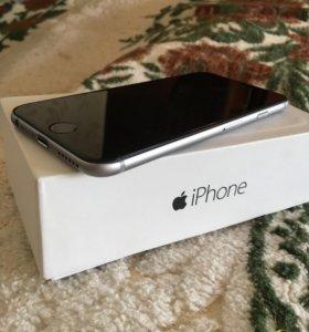 iPhone 6 16gb идеал сост+полный комплект