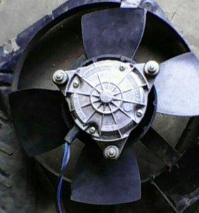 Вентилятор на радиатор ваз2107