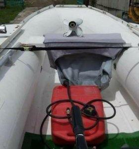 Продам лодку РИБ,мотор Suzukl,телегу